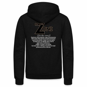 in the zone definition 2 - Unisex Fleece Zip Hoodie