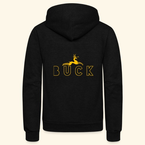 Big Buck - Unisex Fleece Zip Hoodie