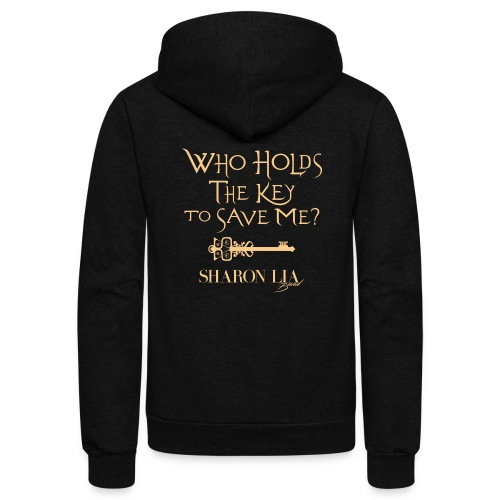 Who Holds The Key To Save Me - Unisex Fleece Zip Hoodie
