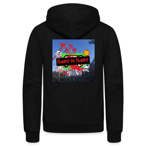 Haunt to Haunt - Sweatshirts, Hoodies, Jackets - Unisex Fleece Zip Hoodie