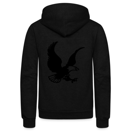 eagles - Unisex Fleece Zip Hoodie