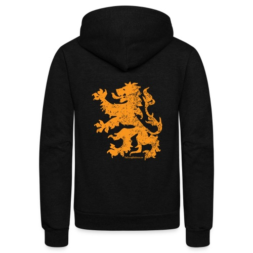 Dutch Lion - Unisex Fleece Zip Hoodie
