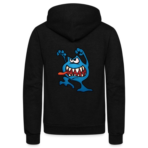 cartoon monster 4 - Unisex Fleece Zip Hoodie
