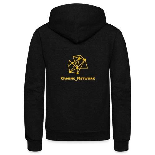 gaming network gold - Unisex Fleece Zip Hoodie