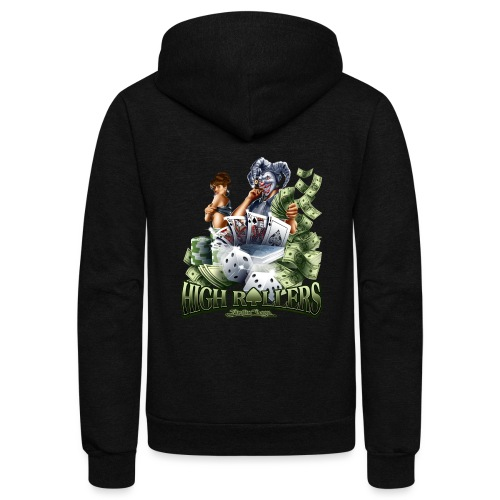 High Roller by RollinLow - Unisex Fleece Zip Hoodie