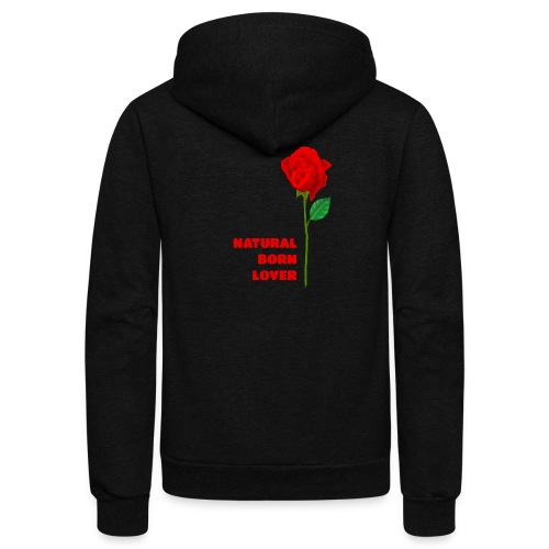 Natural Born Lover - I'm a master in seduction! - Unisex Fleece Zip Hoodie