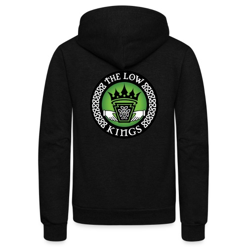 Color logo - Unisex Fleece Zip Hoodie