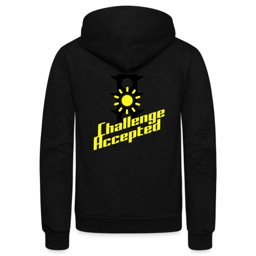Challenge Accepted - Unisex Fleece Zip Hoodie