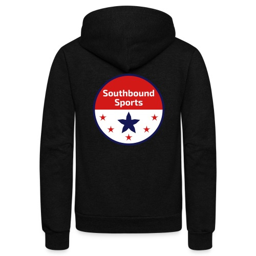 Southbound Sports Round Logo - Unisex Fleece Zip Hoodie