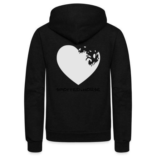 Appaloosa Heart - Unisex Fleece Zip Hoodie