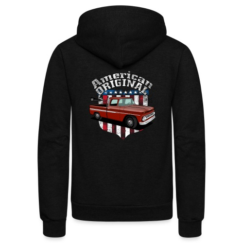 American Original RED - Unisex Fleece Zip Hoodie