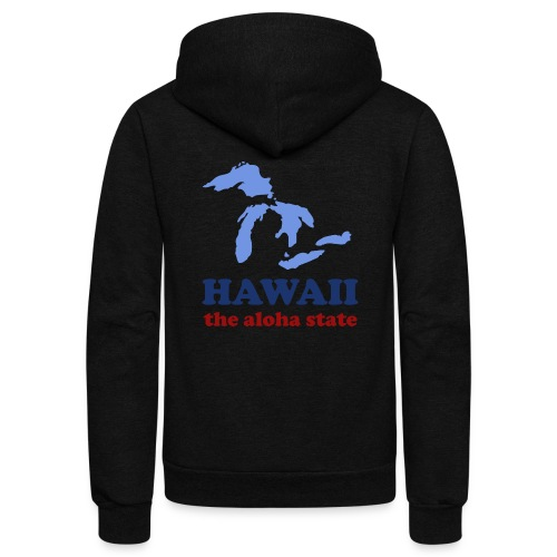 Geographically Impaired - Unisex Fleece Zip Hoodie