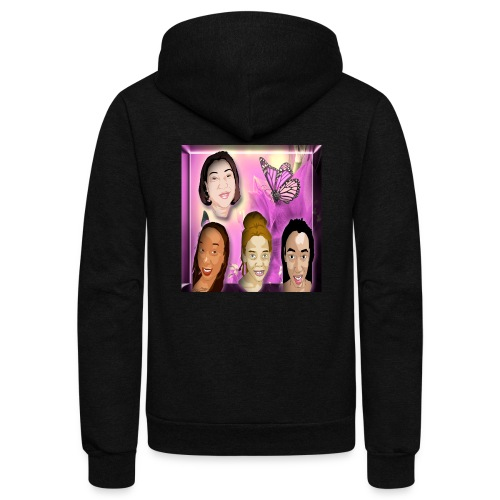 (family_first_revised) - Unisex Fleece Zip Hoodie