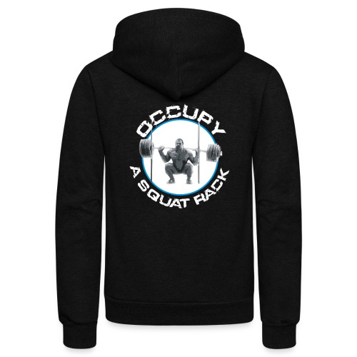 occupysquat - Unisex Fleece Zip Hoodie
