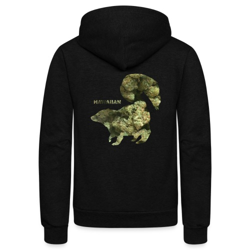 HAWAIIAN SKUNK.png - Unisex Fleece Zip Hoodie