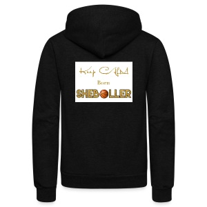 Girl Basketball shirt - Unisex Fleece Zip Hoodie