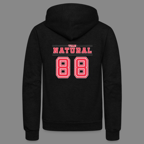 Team Natural 88 - Unisex Fleece Zip Hoodie