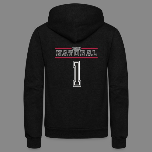 Team Natural 1 - Unisex Fleece Zip Hoodie