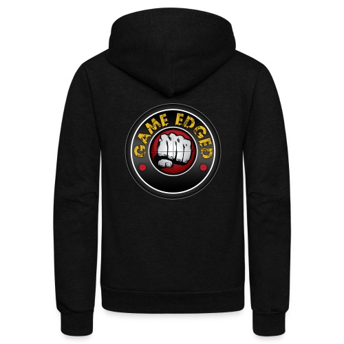Men's Game Edged Logo Tshirt with So Be It On the - Unisex Fleece Zip Hoodie