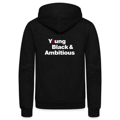 YBA Black Shirt2 - Unisex Fleece Zip Hoodie