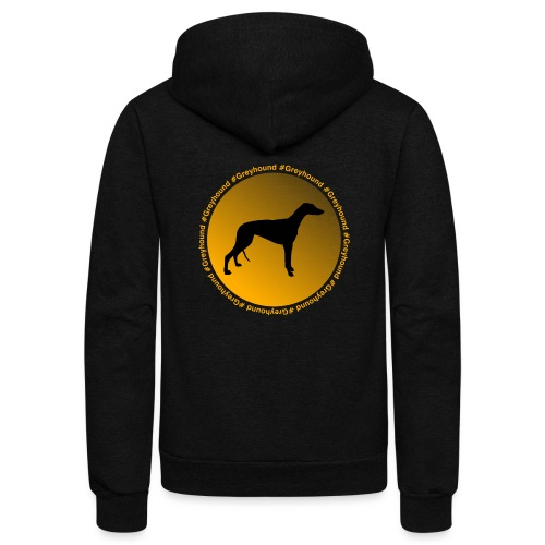 Greyhound - Unisex Fleece Zip Hoodie