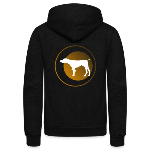 German Shorthaired Pointer - Unisex Fleece Zip Hoodie