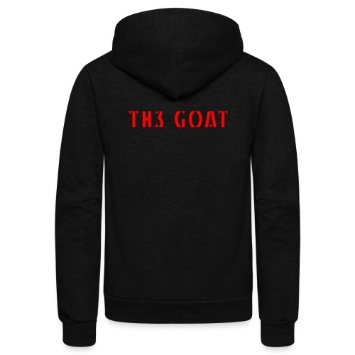 GREEK GOAT - Unisex Fleece Zip Hoodie