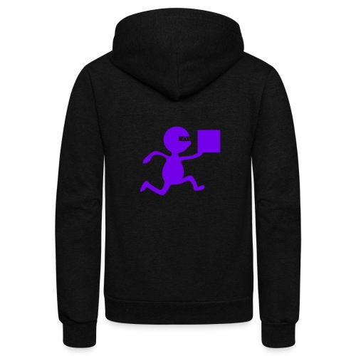 FedEx Ninja - Unisex Fleece Zip Hoodie