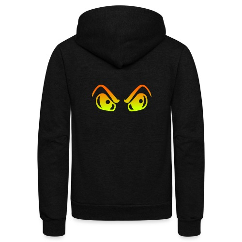 HALLOWEEN EYES - Unisex Fleece Zip Hoodie