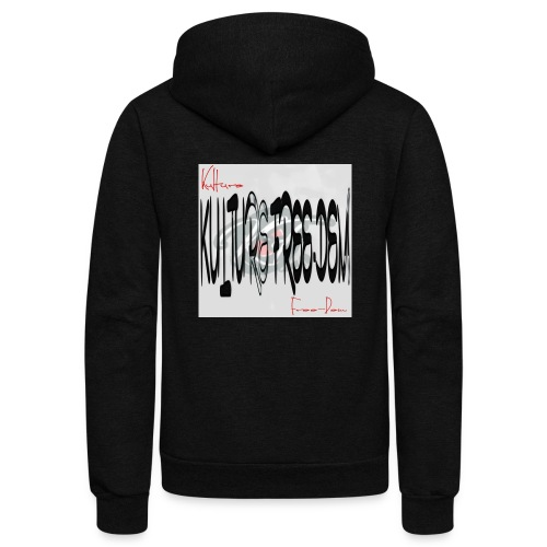Kulture Freedem signature - Unisex Fleece Zip Hoodie
