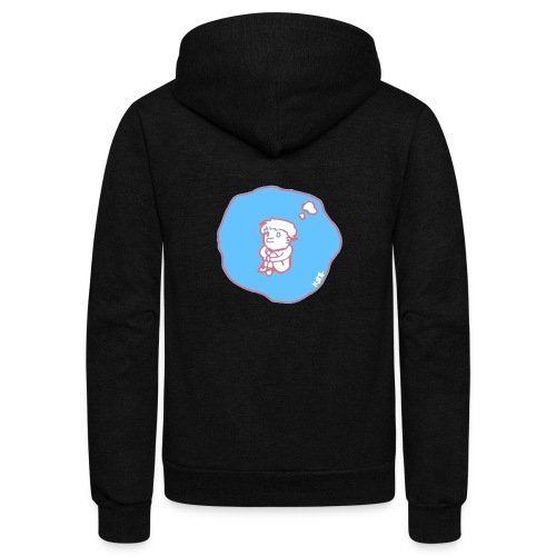 In my bubble - Unisex Fleece Zip Hoodie