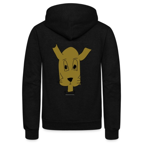 ralph the dog - Unisex Fleece Zip Hoodie