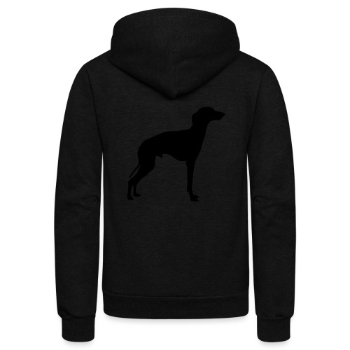 Italian Greyhound - Unisex Fleece Zip Hoodie
