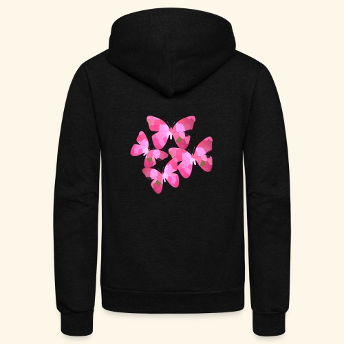 butterfly_effect - Unisex Fleece Zip Hoodie