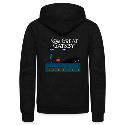 Great Gatsby Game Tri-blend Vintage Tee - Unisex Fleece Zip Hoodie
