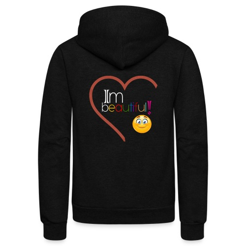 i'm beautiful - Unisex Fleece Zip Hoodie