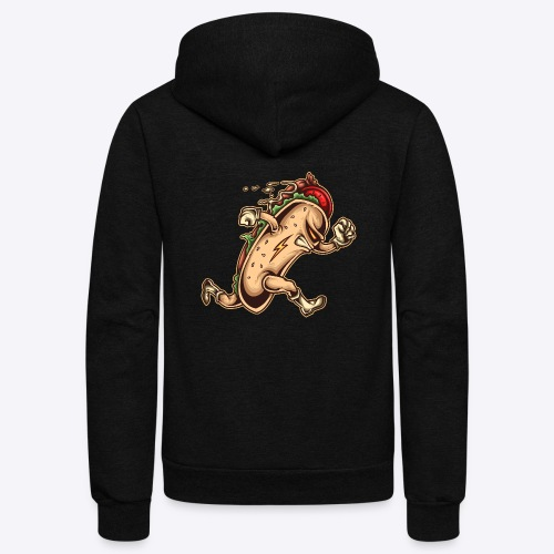 Hot Dog Hero - Unisex Fleece Zip Hoodie