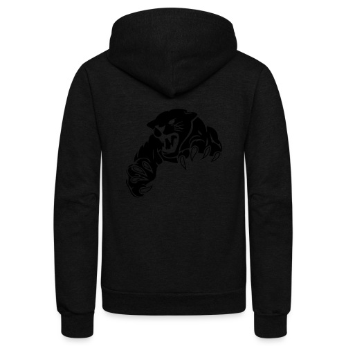 panther custom team graphic - Unisex Fleece Zip Hoodie
