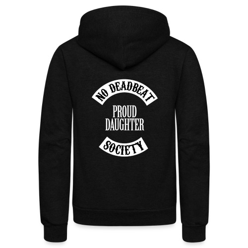 Proud Daughter T-shirt (Kids) - Unisex Fleece Zip Hoodie