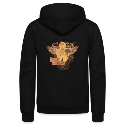 teetemplate54 - Unisex Fleece Zip Hoodie