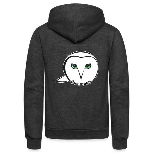 Owlsight - Unisex Fleece Zip Hoodie