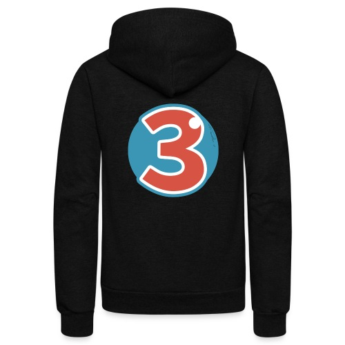 3 Years - Unisex Fleece Zip Hoodie