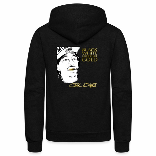 Carl Lovett Lauderdale Gold - Unisex Fleece Zip Hoodie