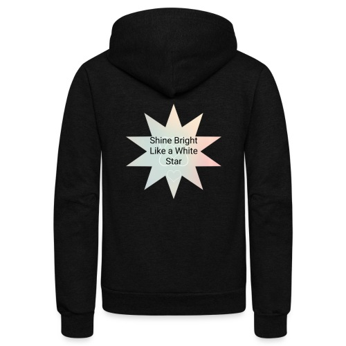 Photo 1514476838633 - Unisex Fleece Zip Hoodie