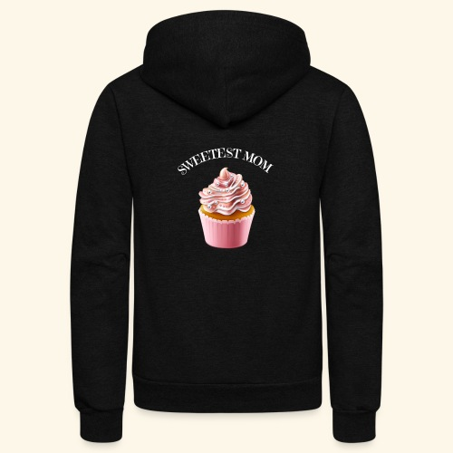 sweetest mom - Unisex Fleece Zip Hoodie