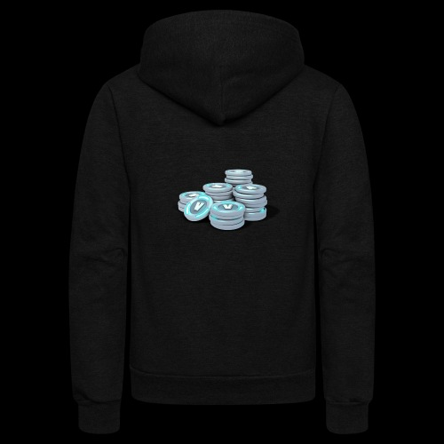 vbucks - Unisex Fleece Zip Hoodie
