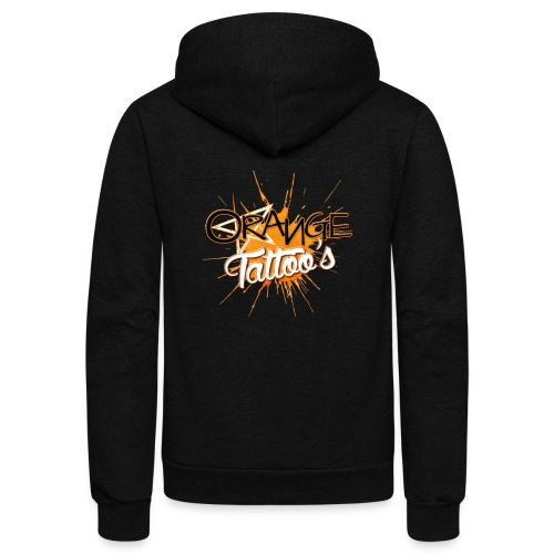 Orange Tattoo's - Unisex Fleece Zip Hoodie
