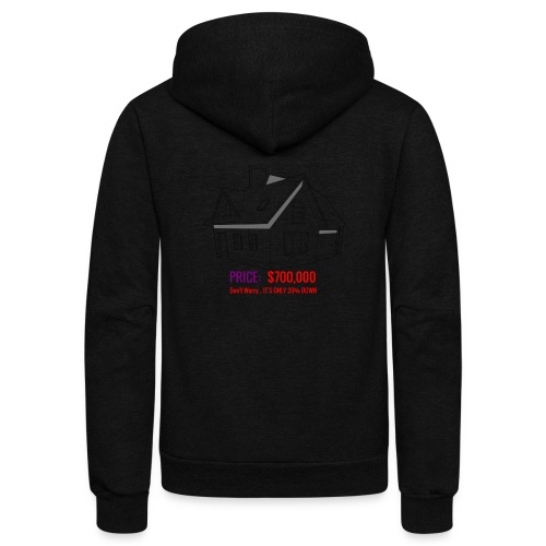 Fannie & Freddie Joke - Unisex Fleece Zip Hoodie
