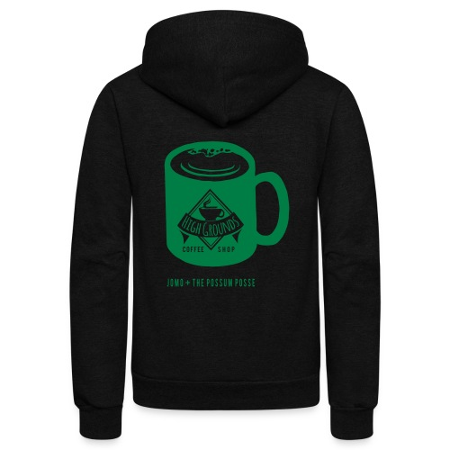 High Grounds Coffee Shop - Unisex Fleece Zip Hoodie