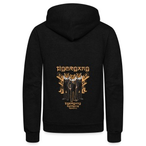 TIGERGANG TIGER HIPSTER STYLISH ASIA T-SHIRT - Unisex Fleece Zip Hoodie